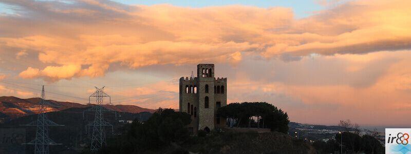 Torre del Baró sunset