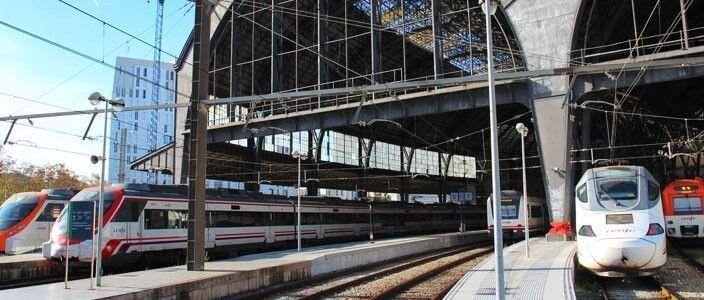 getting to Barcelona by train