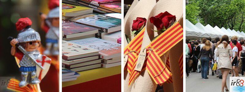 Diada Sant Jordi Barcelona