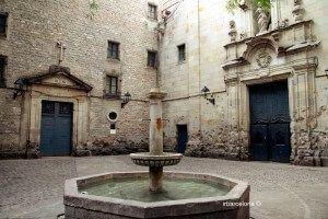 Gothic Quarter fountain