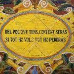 Moral slogans (Women's Patio)