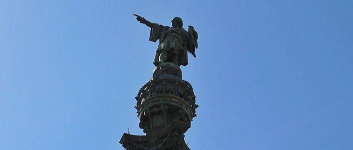 Christopher Columbus monument Barcelona
