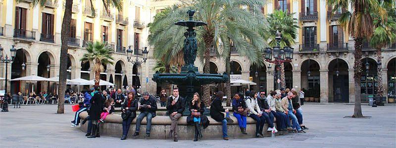 Plaça Reial - Plaza Real