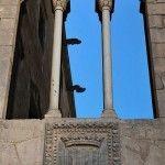 Palau Reial Major window