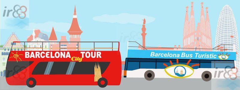 Hop-On Hop-Off Barcelona bus tour