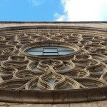 Santa Maria del Mar Rose window