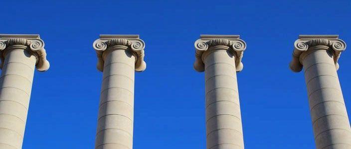 Four Columns Josep Puig i Cadafalch