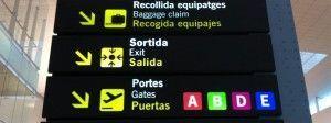 Barcelona from El Prat Airport