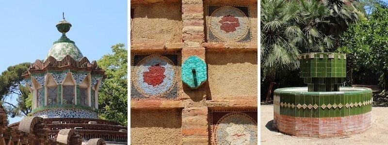 Finca Güell's Pavilions and Jardí Gaudí