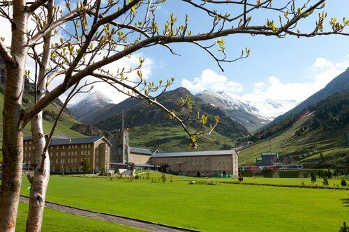 Pyrenees Vall de Núria