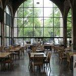 Barcelona Maritime Museum cafe