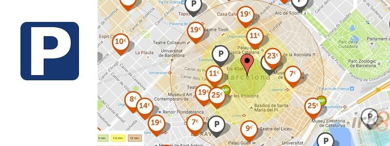 Where can I park in Barcelona