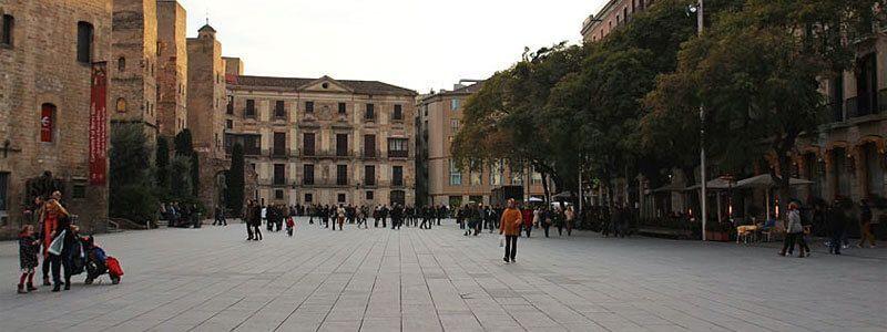 Barcelona's squares