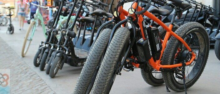 bike hire and rental in Barcelona