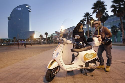 rent Vespa Barcelona