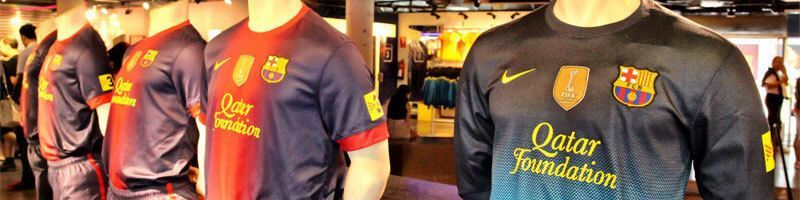 Official F.C. Barcelona merchandise