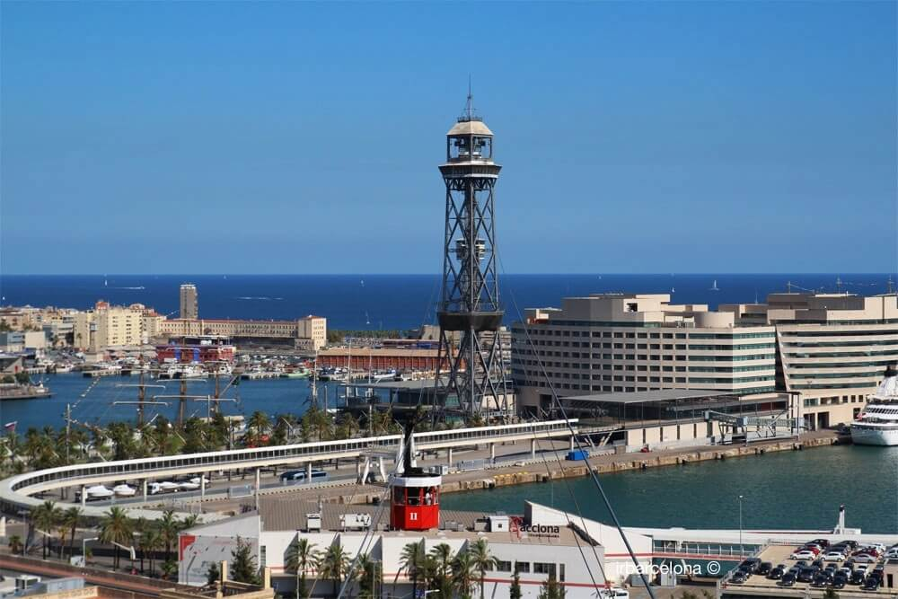 Aeri del Port Barcelona cable car