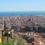 Barcelona views Turó de la Rovira