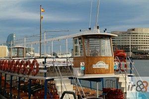 Golondrina boat Barcelona