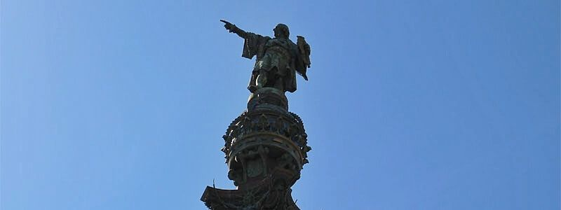 Christopher Columbus monument Barcelona