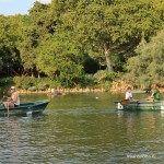 boats Parc de la Ciutadella lake