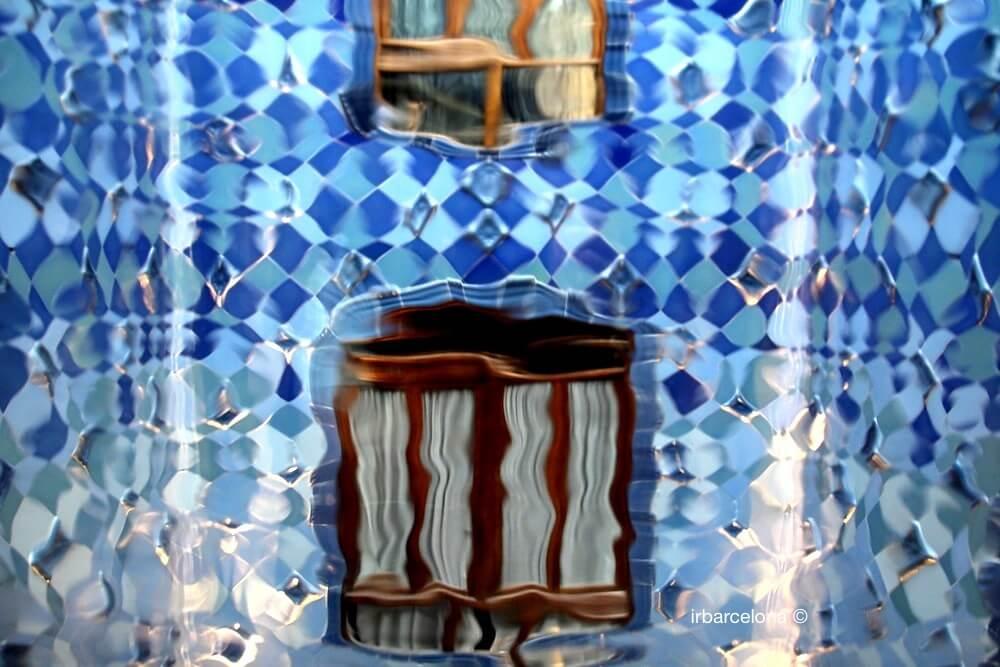 optical effects Casa Batlló