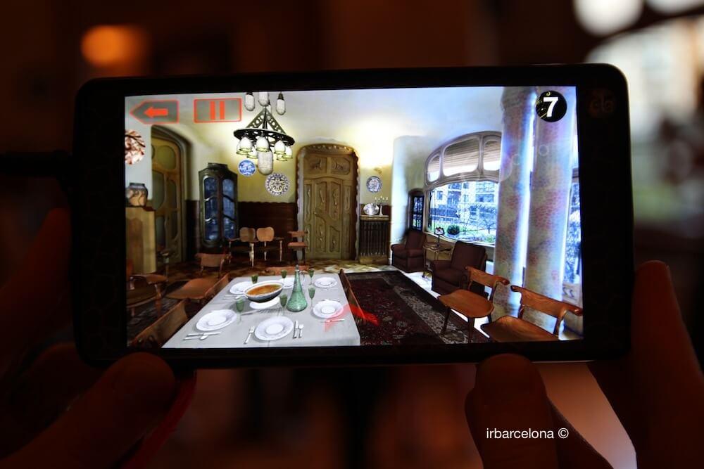 augmented reality Casa Batlló