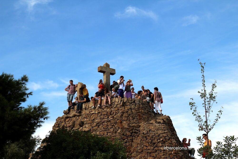 people Turó de les Tres Creus