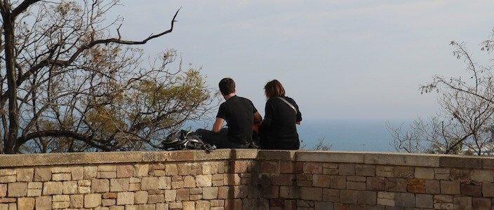 Jardins Miramar viewpoint
