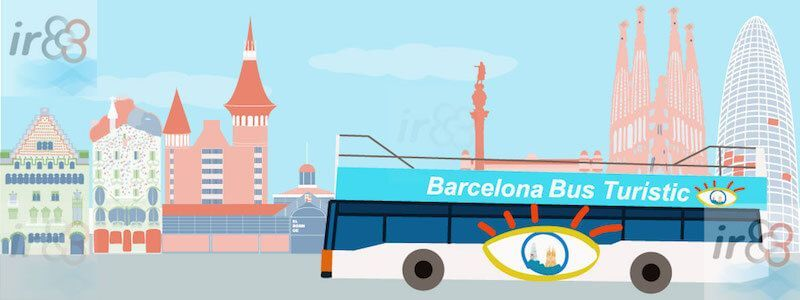 Hop on Hop off Sightseeing Bus Turístic