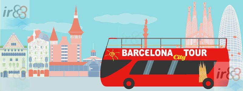 Hop on Hop off Sightseeing Barcelona City Tour