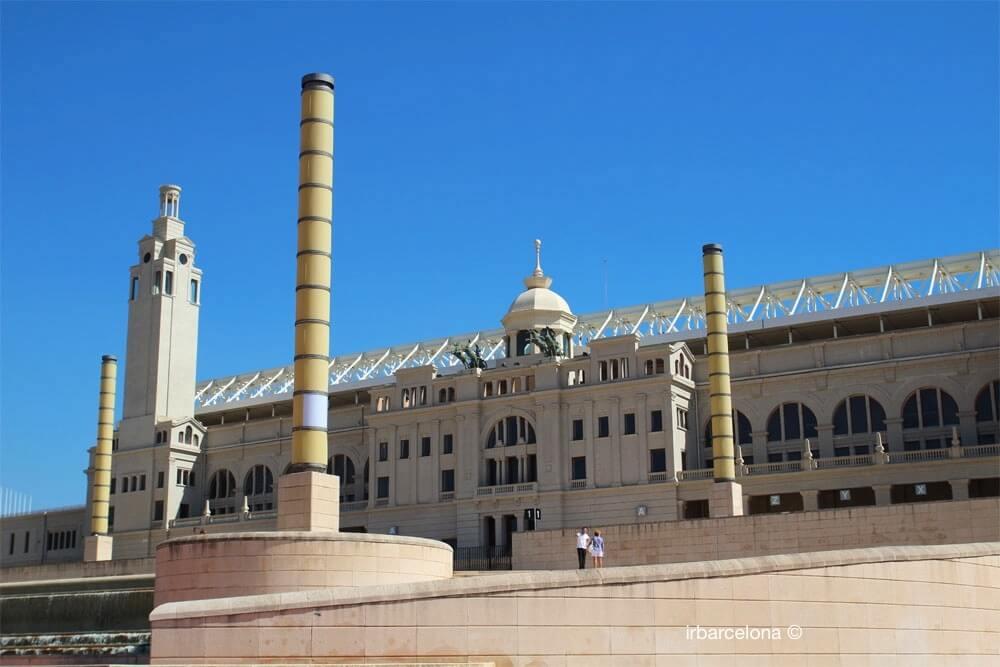 Outside Olympic Stadium