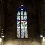Santa Maria del Mar Stained glass