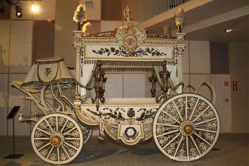 white hearse for religious maidens and children