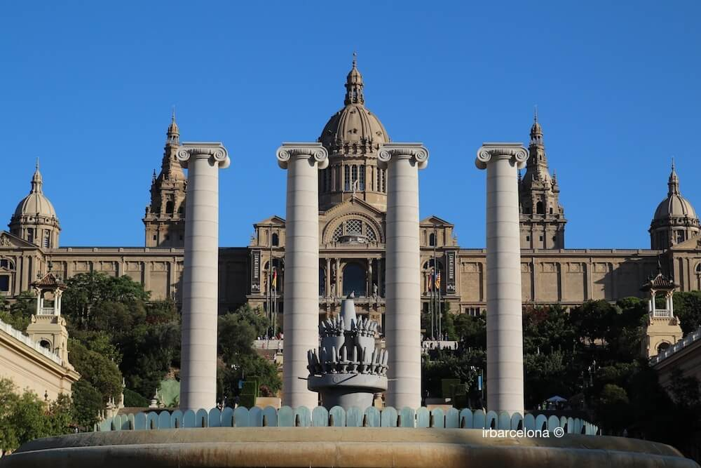 Columns and Palau Nacional de Catalunya
