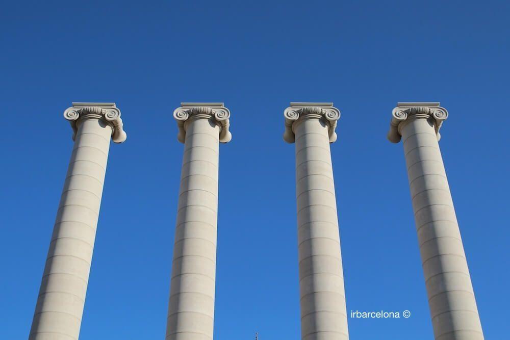 Four Columns of Josep Puig i Cadafalch