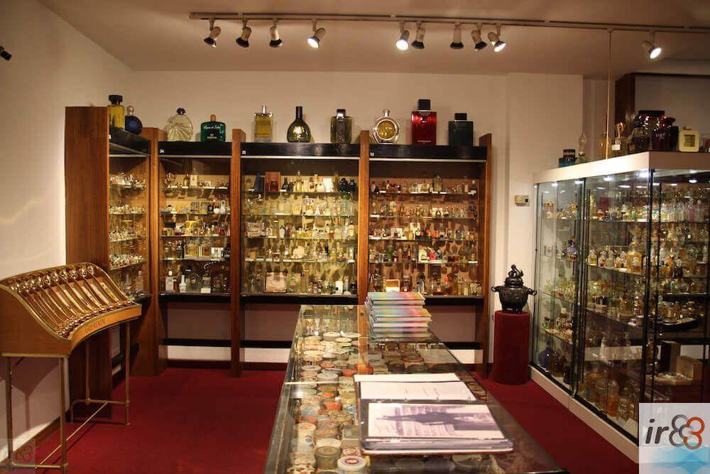 inside Barcelona Perfume museum
