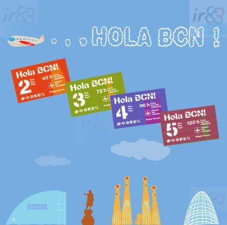 purchase Hola BCN! online
