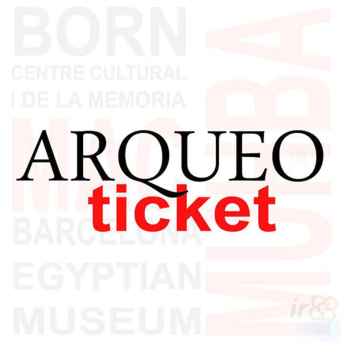 purchase ArqueoTicket Barcelona