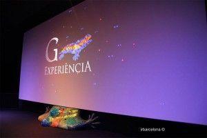 movie screen Gaudí Experiència