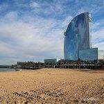 views of W Barcelona Hotel