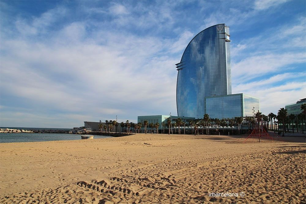 views of W Barcelona