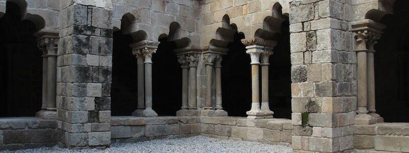 Sant Pau del Camp's Romanesque cloister