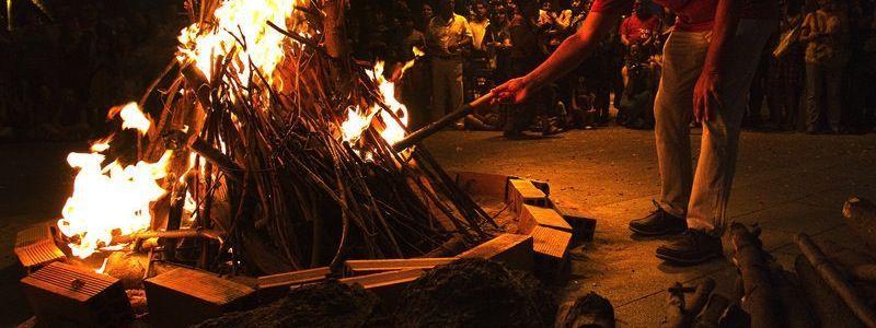 bonfires Sant Joan