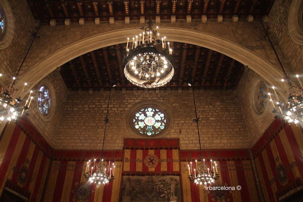 ceiling Saló de Cent