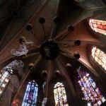 stained glass windows Santa Maria del Pi