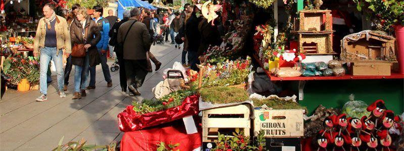 Santa Llúcia Christmas Market Barcelona
