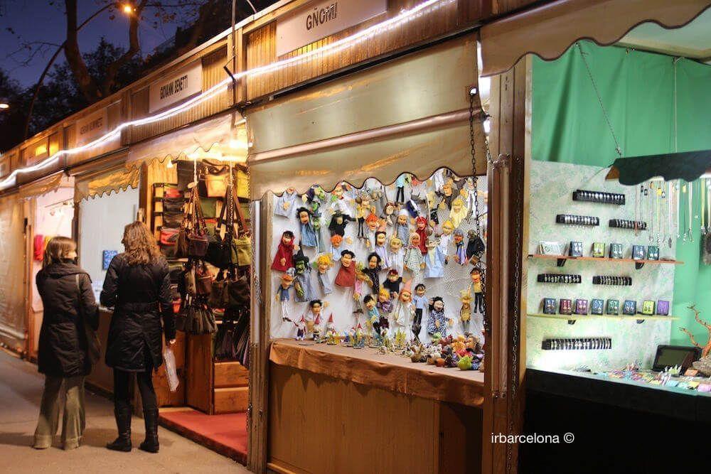 stalls Fira Gran Via Barcelona
