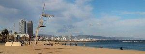 Barcelona Seafront Promenade