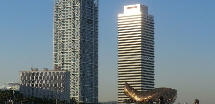 Torre Mapfre and Hotel Arts